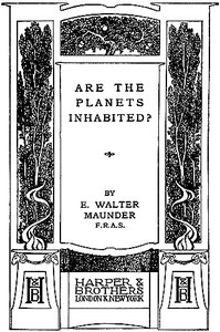 Are the Planets Inhabited?