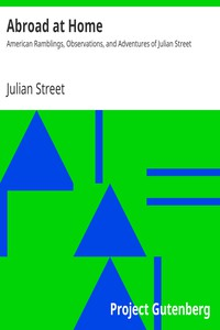 Cover of Abroad at Home: American Ramblings, Observations, and Adventures of Julian Street