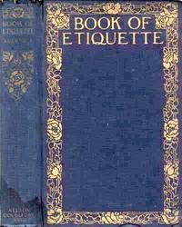 Cover of Book of Etiquette, Volume I