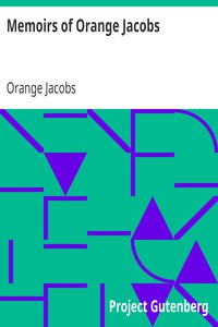 Cover of Memoirs of Orange Jacobs