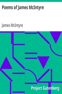 Poems of James McIntyre