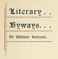 Literary Byways