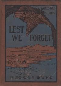 Lest We Forget: World War Stories