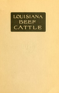 Cover of Louisiana Beef Cattle