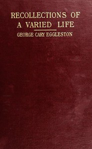 Cover of Recollections of a Varied Life