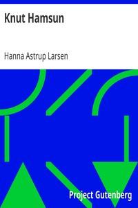 Cover of Knut Hamsun