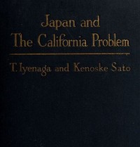 Cover of Japan and the California Problem