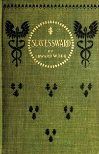 Cover of Successward: A Young Man's Book for Young Men