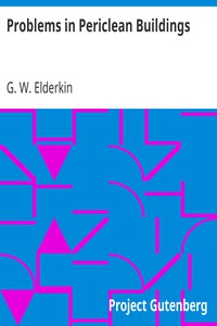 Cover of Problems in Periclean Buildings