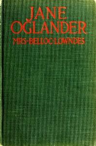 Cover of Jane Oglander