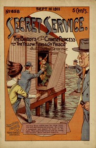 Cover of The Bradys After a Chinese Princess; Or, The Yellow Fiends of 'Frisco
