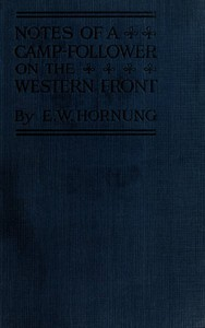 Cover of Notes of a Camp-Follower on the Western Front