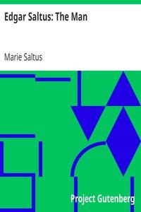 Cover of Edgar Saltus: The Man