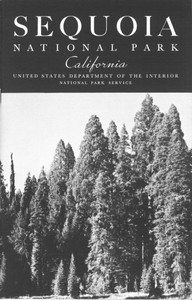 Cover of Sequoia [California] National Park