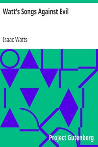 Cover of Watt's Songs Against Evil