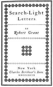 Cover of Search-Light Letters