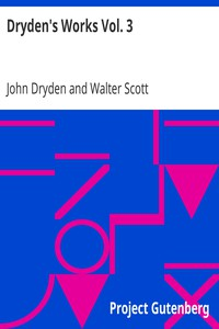 Cover of Dryden's Works Vol. 3