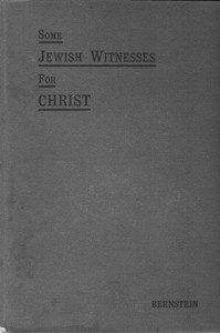 Cover of Some Jewish Witnesses For Christ