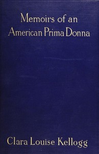 Cover of Memoirs of an American Prima Donna