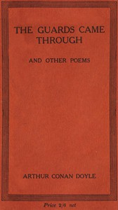 Cover of The Guards Came Through, and Other Poems