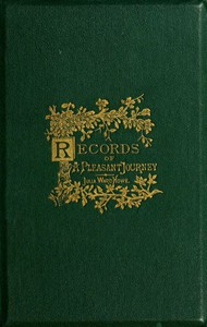 Cover of From the Oak to the Olive: A Plain record of a Pleasant Journey