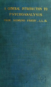 Cover of A General Introduction to Psychoanalysis