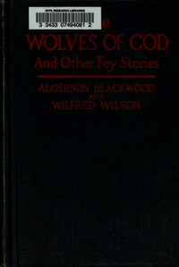 Cover of The Wolves of God, and Other Fey Stories