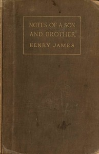 Cover of Notes of a Son and Brother
