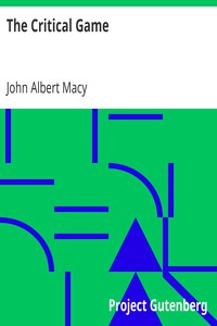 Cover of The Critical Game