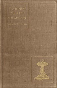 Cover of Garden-Craft Old and New