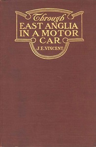 Cover of Through East Anglia in a Motor Car