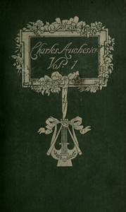 Cover of Charles Auchester, Volume 1 (of 2)