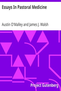 Cover of Essays In Pastoral Medicine