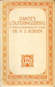 Dante's Louteringsbergin proza overgebracht (Dutch)