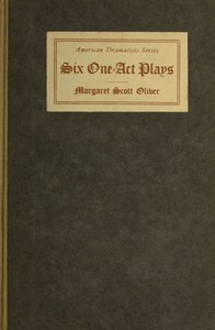 Six One-Act Plays
