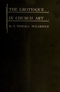 Cover of The Grotesque in Church Art