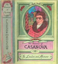 """Cover of The Memoirs of Jacques Casanova de Seingalt, Vol. V (of VI), """"In London and Moscow"""" The First Complete and Unabridged English Translation, Illustrated with Old Engravings"""