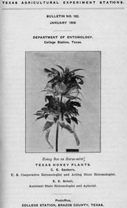 Cover of Texas Honey Plants
