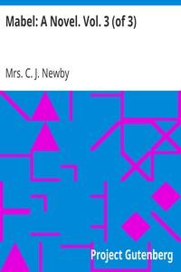 Mabel: A Novel. Vol. 3 (of 3)