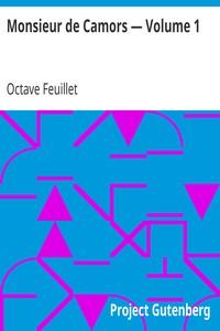 Cover of Monsieur de Camors — Volume 1
