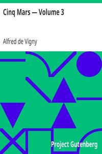 Cover of Cinq Mars — Volume 3
