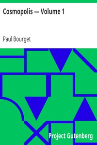 Cover of Cosmopolis — Volume 1