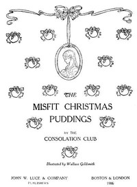 Cover of The Misfit Christmas Puddings