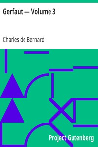 Cover of Gerfaut — Volume 3