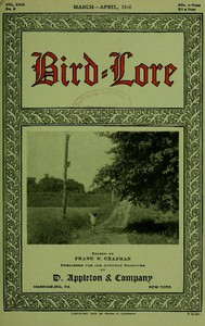 Cover of Bird-Lore, March-April 1916