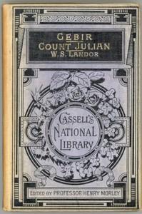 Cover of Gebir, and Count Julian