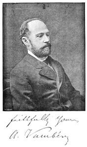 Cover of Árminius Vambéry, his life and adventures