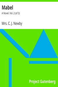 Cover of Mabel: A Novel. Vol. 2 (of 3)