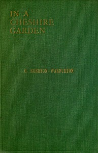 Cover of In a Cheshire Garden: Natural History Notes