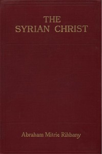 Cover of The Syrian Christ